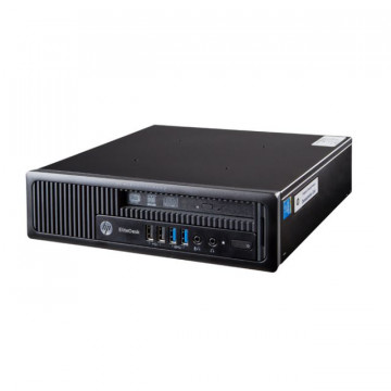 Calculator HP EliteDesk 800G1 USDT, Intel Core i5-4570s 2.90GHz, 4GB DDR3, 500GB SATA, DVD-RW, Second Hand Calculatoare Second Hand