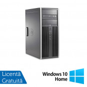 Calculator HP 8200 Tower, Intel Core i3-2100 3.10GHz, 8GB DDR3, 500GB SATA, DVD-ROM + Windows 10 Home, Refurbished Calculatoare Refurbished