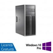 Calculator HP 8200 Tower, Intel Core i3-2100 3.10GHz, 8GB DDR3, 500GB SATA, GeForce GT210 512MB DDR3, DVD-ROM + Windows 10 Pro, Refurbished Calculatoare Refurbished