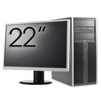 Calculator HP 8200 Tower, Intel Core i5-2400 3.10GHz, 8GB DDR3, 500GB SATA, GeForce GT210 512MB DDR3, DVD-ROM + Monitor 22 Inch (Top Sale!)