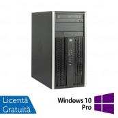 Calculator HP 8200 Elite MT, Intel Core i5-2400 3.10 GHz, 4GB DDR3, 250GB SATA, DVD-RW + Windows 10 Pro, Refurbished Calculatoare Refurbished