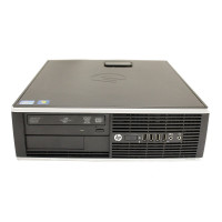 Calculator HP 8200 SFF, Intel Core i3-2100 3.10GHz, 4GB DDR3, 250GB SATA, DVD-ROM, Port Serial, Display Port