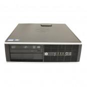 Calculator HP 8200 Elite SFF, Intel Core i5-2400 3.10GHz, 4GB DDR3, 250GB SATA, DVD-ROM, Port Serial, Display Port, Second Hand Calculatoare Second Hand
