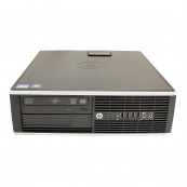 Calculator HP 8200 Elite SFF, Intel Core i5-2400 3.10GHz, 8GB DDR3, 500GB SATA, DVD-ROM, Port Serial, Display Port, Second Hand Calculatoare Second Hand