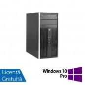 Calculator HP 8300 Elite MT, Intel Core i5-3470 3.20GHz, 4GB DDR3, 250GB SATA, DVD-RW + Windows 10 Pro, Refurbished Calculatoare Refurbished