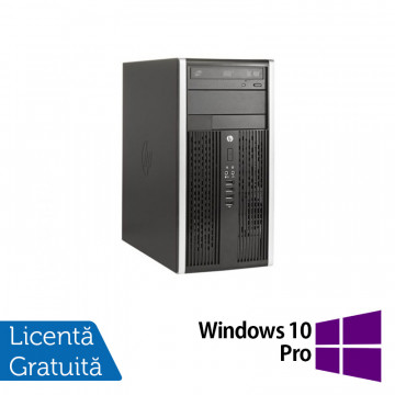 Calculator HP 8300 Elite MT, Intel Core i5-3470 3.20GHz, 4GB DDR3, 500GB SATA, DVD-RW + Windows 10 Pro, Refurbished Calculatoare Refurbished
