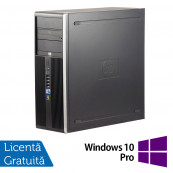 Calculator HP 8300 Tower, Intel Core i5-3470 3.20GHz, 8GB DDR3, 120GB SSD + Windows 10 Pro, Refurbished Calculatoare Refurbished