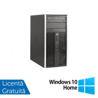 Calculator HP 8300 Tower, Intel Core i5-3470s 2.90GHz, 4GB DDR3, 250GB, DVD-RW + Windows 10 Home