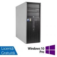 Calculator HP Compaq DC7900 Tower, Intel Core2 Duo E8500 3.16GHz, 4GB DDR3, 160GB SATA, DVD-RW + Windows 10 Pro