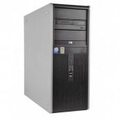 Calculator HP DC7900 Tower, Intel Core 2 Quad Q9400 2.66GHz, 4GB DDR2, 250GB SATA, DVD-RW, Second Hand Calculatoare Second Hand