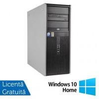 Calculator HP DC7900 Tower, Intel Core 2 Quad Q9400 2.66GHz, 4GB DDR3, 150GB SATA, DVD-RW + Windows 10 Home