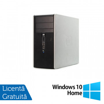 Calculator HP DC5850 Tower, AMD Athlon 64 X2 4450B 2.3 GHz, 2GB DDR2, 160GB SATA + Windows 10 Home, Refurbished Calculatoare Refurbished