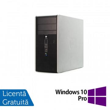 Calculator HP DC5850 Tower, AMD Athlon 64 X2 4450B 2.3 GHz, 2GB DDR2, 160GB SATA + Windows 10 Pro, Refurbished Calculatoare Refurbished