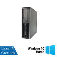 Calculator HP Compaq Elite 8300 SFF, Intel Core i7-3770 3.40GHz, 4GB DDR3, 1TB SATA, DVD-ROM + Windows 10 Home
