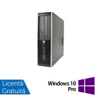 Calculator HP Compaq Elite 8300 SFF, Intel Core i7-3770 3.40GHz, 4GB DDR3, 1TB SATA, DVD-ROM + Windows 10 Pro