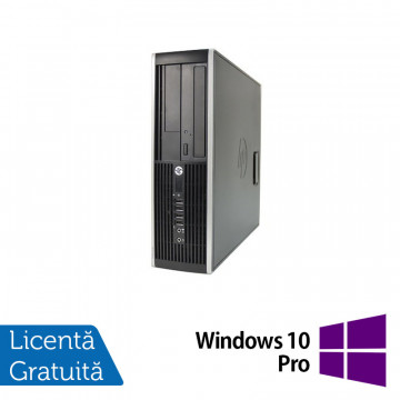 Calculator HP Compaq Elite 8300 SFF, Intel Core i7-3770 3.40GHz, 4GB DDR3, 1TB SATA, DVD-ROM + Windows 10 Pro, Refurbished Calculatoare Refurbished