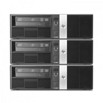 Pachet 3x Calculator HP RP5700 SFF, Intel Core 2 Duo E6400 2.13GHz, 3GB DDR2, 500GB SATA, DVD-RW, Second Hand Oferte Pachete IT