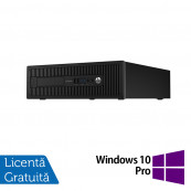 Calculator HP EliteDesk 800 G1 SFF, Intel Core i5-4570s 2.90GHz, 4GB DDR3, 500GB SATA + Windows 10 Pro, Refurbished Calculatoare Refurbished