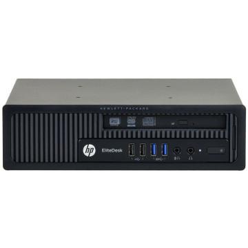 Calculator HP EliteDesk 800 G1 USDT, Intel Core i3-4130 3.40GHz, 4GB DDR3, 320GB SATA, DVD-RW, Second Hand Calculatoare Second Hand