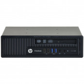 Calculator HP EliteDesk 800 G1 USDT, Intel Core i3-4360 3.40GHz, 4GB DDR3, 320GB SATA, DVD-RW, Second Hand Calculatoare Second Hand
