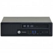 Calculator HP EliteDesk 800 G1 USDT, Intel Core i3-4360 3.40GHz, 4GB DDR3, 500GB SATA, DVD-RW, Second Hand Calculatoare Second Hand