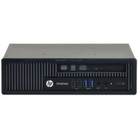 Calculator HP EliteDesk 800 G1 USDT, Intel Core i3-4360 3.40GHz, 4GB DDR3, 500GB SATA, DVD-RW