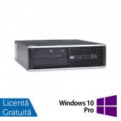 Calculator HP 6000 Pro Desktop, Intel Celeron Dual Core E3400 2.60GHz, 4GB DDR3, 250GB SATA, DVD-ROM + Windows 10 Pro, Refurbished Calculatoare Refurbished