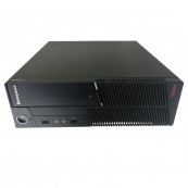 Calculator LENOVO ThinkCentre A58 SFF, Intel Core2 Quad Q6600 2.40GHz, 2GB DDR2, 160GB SATA, DVD-RW, Second Hand Calculatoare Second Hand
