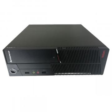 Calculator LENOVO ThinkCentre A58 SFF, Intel Pentium E5200 2.50GHz, 2GB DDR2, 320GB SATA, DVD-ROM, Second Hand Calculatoare Second Hand
