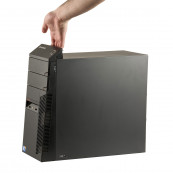 Calculator LENOVO ThinkCentre A58 Tower, Intel Core2 Quad Q6600 2.40GHz, 4GB DDR2, 320GB SATA, DVD-RW, Second Hand Calculatoare Second Hand