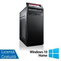 Calculator LENOVO ThinkCentre E73 Tower, Intel Pentium G3240 3.10GHz, 4GB DDR3, 500GB SATA, DVD-RW + Windows 10 Home