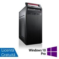 Calculator LENOVO ThinkCentre E73 Tower, Intel Pentium G3240 3.10GHz, 4GB DDR3, 500GB SATA, DVD-RW + Windows 10 Pro