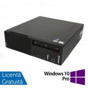 Calculator LENOVO Edge E71 SFF, Intel Pentium G840 2.80GHz, 4GB DDR3, 250GB SATA, DVD-RW + Windows 10 Pro, Refurbished Calculatoare Refurbished