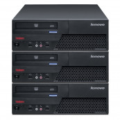 Pachet 3x Calculator LENOVO M58 SFF, Intel Core 2 Duo E7500 2.93GHz, 4GB DDR2, 160GB SATA, Second Hand Oferte Pachete IT