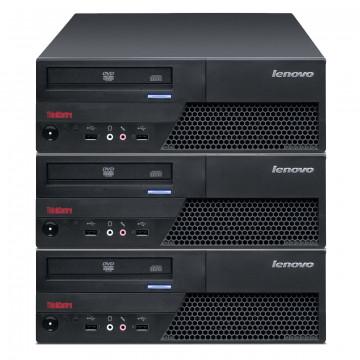 Pachet 3x Calculator LENOVO M58 SFF, Intel Core 2 Duo E7500 2.93GHz, 4GB DDR3, 160GB SATA, Second Hand Oferte Pachete IT