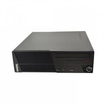 Calculator Lenovo ThinkCentre M71e SFF, Intel Core i3-2100 3.10GHz, 4GB DDR3, 500GB SATA, DVD-RW, Second Hand Calculatoare Second Hand