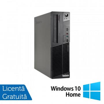 Calculator LENOVO Thinkcentre M72E Desktop, Intel Core I3-3220 3.30GHz, 4GB DDR3, 250GB SATA, DVD-RW + Windows 10 Home, Refurbished Calculatoare Refurbished