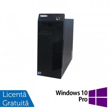 Calculator Lenovo Thinkcentre M72E Tower, Intel Core i3-2100 3.10GHz, 4GB DDR3, 250GB SATA + Windows 10 Pro, Refurbished Calculatoare Refurbished