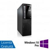 Calculator Lenovo Thinkcentre E73 Desktop, Intel Core i5-4430s 2.70GHz, 4GB DDR3, 500GB SATA, DVD-ROM + Windows 10 Pro, Refurbished Calculatoare Refurbished
