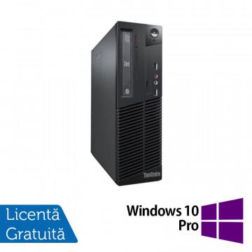 Calculator Lenovo Thinkcentre M73 SFF, Intel Core i5-4570 3.20GHz, 4GB DDR3, 500GB SATA, DVD-ROM + Windows 10 Pro, Refurbished Calculatoare Refurbished