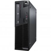 Calculator Refurbished LENOVO M81P, SFF, Intel Pentium Dual Core G850, 2.90GHz, 4GB DDR3, 250GB SATA + Windows 10 Home Calculatoare Refurbished
