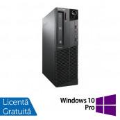 Calculator LENOVO Thinkcentre M91P SFF, Intel Core i5-2400 3.10GHz, 4GB DDR3, 500GB SATA, DVD-RW + Windows 10 Pro, Refurbished Calculatoare Refurbished