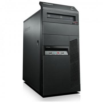 Calculator Lenovo Thinkcentre M91p Tower, Intel Core i7-2600 3.4GHz, 4GB DDR3, 120GB SSD, DVD-RW, Second Hand Calculatoare Second Hand