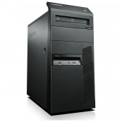Calculator Barebone Lenovo M91P Tower, Placa de baza + Carcasa + Cooler + Sursa, Second Hand Barebone