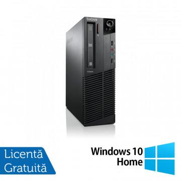 Calculator Lenovo ThinkCentre M92p SFF, Intel Core i5-3470 3.20GHz, 4GB DDR3, 500GB SATA, DVD-RW + Windows 10 Home, Refurbished Calculatoare Refurbished
