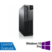 Calculator Lenovo ThinkCentre M92p SFF, Intel Core i5-3570 3.40GHz, 4GB DDR3, 500GB SATA + Windows 10 Pro