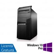 Calculator Lenovo Thinkcentre M93p Tower, Intel Core i3-4130 3.40GHz, 4GB DDR3, 500GB SATA, DVD-RW + Windows 10 Pro, Refurbished Calculatoare Refurbished