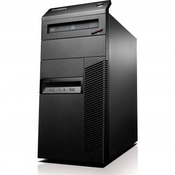 Calculator Lenovo Thinkcentre M93p Tower, Intel Core i5-4690T 2.50GHz, 8GB DDR3, 120GB SSD, DVD-RW, Second Hand Calculatoare Second Hand