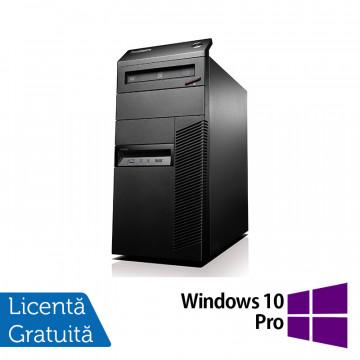Lenovo ThinkCentre M81 Tower, Intel Core i5-2400 3.10GHz, 4GB DDR3, 500GB SATA, DVD-RW + Windows 10 Pro, Refurbished Calculatoare Refurbished