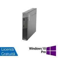 Calculator Lenovo Thinkcentre M93p USDT, Intel Core i7-4765T 2.00 GHz, 8GB DDR3, 120GB SSD + Windows 10 Pro
